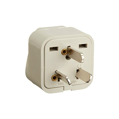 Tmvel Tmvauss Grounded Adapter Plug For America To China