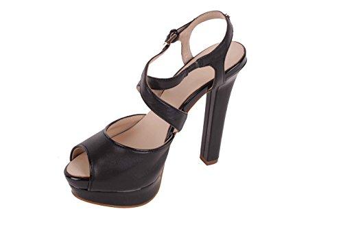 Versace - Sandales à Talon Haut Et Lanières, Noir BS26