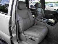 - Durafit Seat Covers, 2003-2007 Chevy Tahoe, Suburban and GMC Yukon Front Captain Chairs without Side Impact Airbags and Dual Electric Controls. Made in Gray Leatherette
