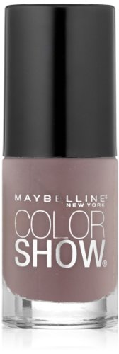 Maybelline New York Color Show Nail Lacquer, Taupe on Trend, 0.23 Fluid Ounce