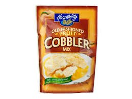 Hospitality Old Fashioned Fruit Cobbler Mix 7oz Pouch (Pack of 12)