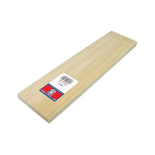 Price comparison product image Midwest Products 6403 Balsawood,  3 / 32 x 4 x 36-Inch (1 Qty)