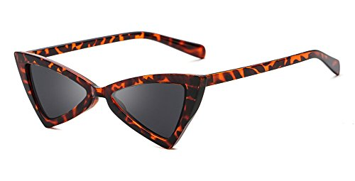 Clout Goggles Small Cat Eye Sunglasses Bold Retro Mod New Fashion Triangle - Clubmaster Eye Sunglasses Cat