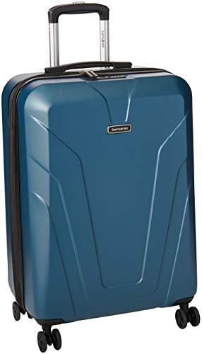 Samsonite Frontier Spinner Unisex Medium Blue Polycarbonate Luggage Bag TSA Approved Q12045002