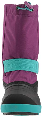 Pictures of Kamik Girls' JETWP Snow Boot, Purple/Teal, 9 Medium US Toddler 6