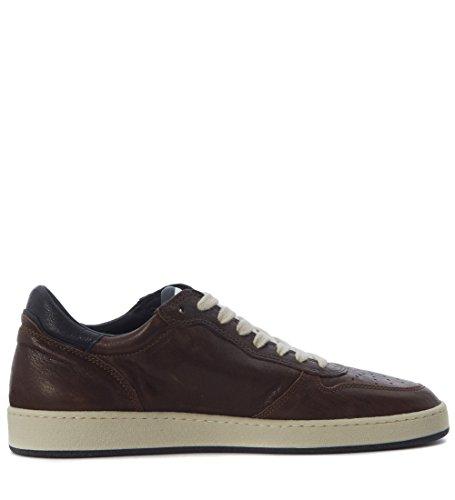 Sneakers Philippe Model Lakers en piel marrón Marrón