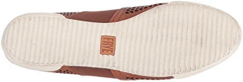 FRYE Women's Melanie Perf Mule Sneaker, Cognac, 6 M US