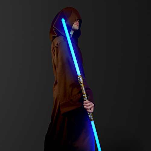 FlashingBlinkyLights Double-Sided LED Light Up Sword Saber with Blue LED & Sound Effects...