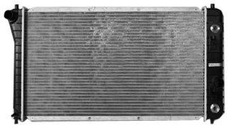TYC 1687 Chevrolet//Pontiac 1-Row Plastic Aluminum Replacement Radiator