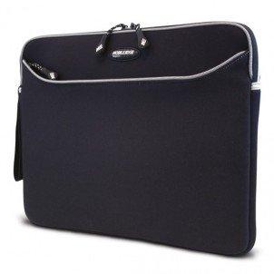 Mobile Edge Slipsuit Notebook Sleeve - 10.8 X 15.5 X 2 - Neoprene - Black, Platinum ()