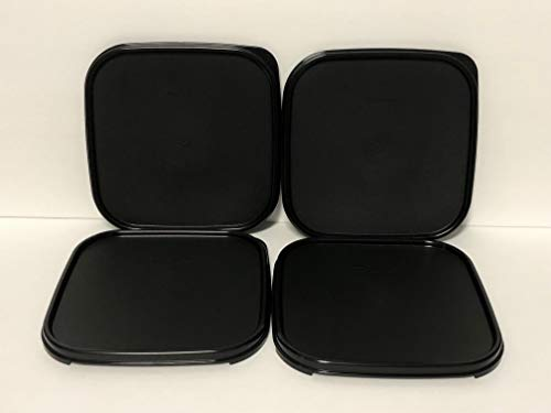 Tupperware Modular Mates Square - Tupperware Modular Mates Square Seals ONLY 4pc Black Set
