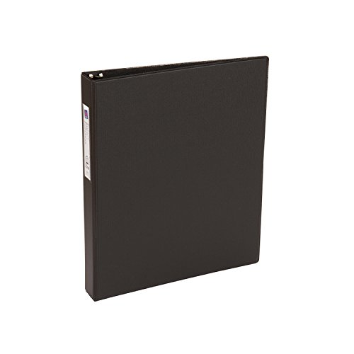Smart Office Organizing (Avery Economy Binder with 1 Inch Round Ring, Black, One Binder (04301))