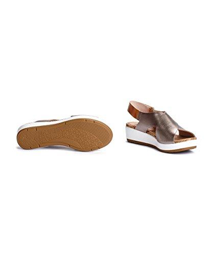 Pikolinos Women's Mykonos W1g_v17 Wedge Heels Sandals Stone Camel CViurTIZX