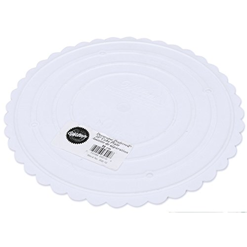 (Wilton 302-10 Decorator Preferred Round Separator Plate for Cakes, 10-Inch)