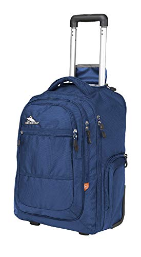 High Sierra Rev Wheeled Backpack (True Navy) (Best Get Home Bag Backpack)