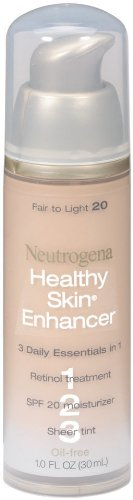 Neutrogena Healthy Skin Enhancer, Fair to Light 20, 1 Ounce