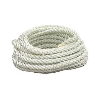 "600/' 1.5/"" Choose from 1//4 3//4 3//8/"" 100/' 5//16/"" 5//8/"" 50/' 1//2 1.25/"" Available in Lengths of 10/' 25/' 2/"" Diameter GOLBERG Premium USA Made Twisted Nylon Rope 1/"""