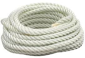 (EVERSTRONG 100% Nylon Twisted Rope in 100 Ft Spool x Various Sizes, 3/16