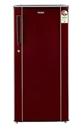 Haier 3 Star Direct Cool Single Door 190 Litres Refrigerator, Burgundy Red