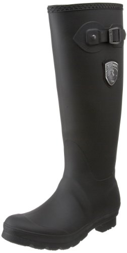 Kamik Women's Jennifer Rain Boot,Black,8 M US ()