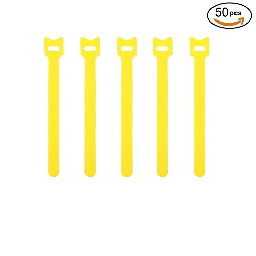 Reusable Fastening Adjustable Management Yellow product image