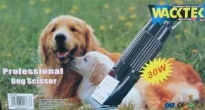 Máquina de corte para perros de profesional 30 W con cuchilla de repuesto