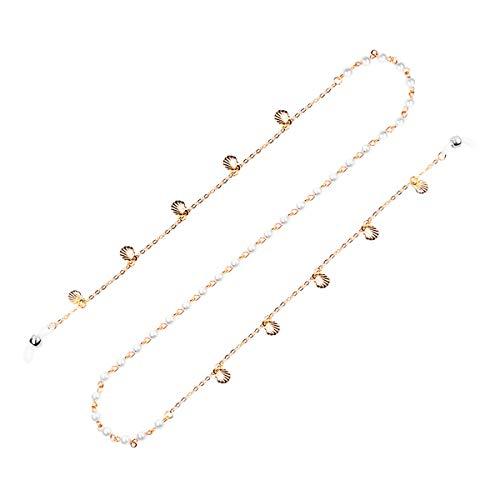 AfazfaNew Planet Glasses Chain Metal Hanging Chains Men/Women Non-slip Decor (Gold) from Afazfa_💗Jewelry