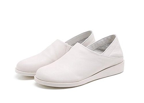 YTTY 37 Leather Shoes white YTTY white Leather 37 YTTY Shoes EPqv67B