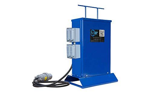 Temporary Transformer - 3000 VA - Converts 480V AC to 120V AC - (2) 20A Duplex Outlets ()