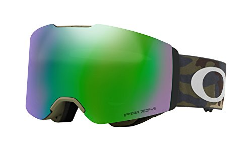 Oakley Fall Line Prizm Snow Goggles Army Camo with Prizm Jade - Goggles Military Oakley