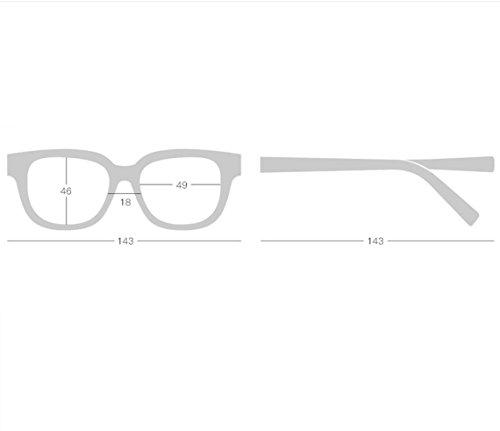 Square Lentille DarkRed Rétro Lunettes Soleil Plat Top Surdimensionnées Frame NU400 Gradient De De Femmes wOPWrnxqYO