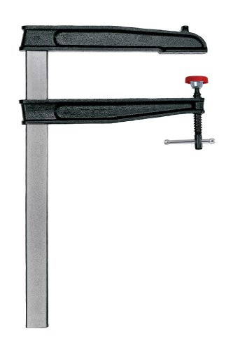 Bessey CDS24-12WP 12-Inch Throat x 24-Inch Opening Heavy Duty Tradesmen Bar Clamp