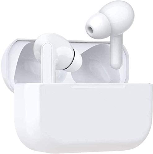 Wireless Earbuds Air Podswireless Bluetooth 5.0 Headphones Bulit-in Mic Noise Cancelling three-D Stereo in Ear Ear Buds,Mini Fast Charging Case IPX5 Waterproof Earbuds for Airpods Pro/iPhone/Apple/Android