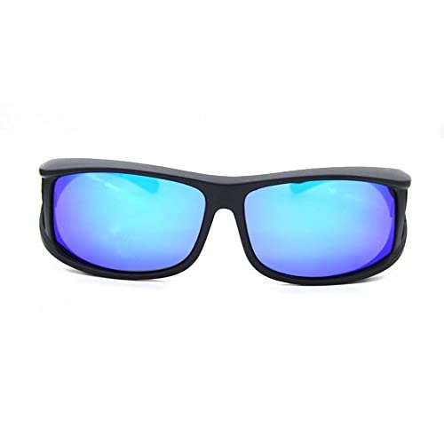 29c3bfe158 MOLA polarized sunglasses fit over prescription glasses men medium mirror  lens delicate