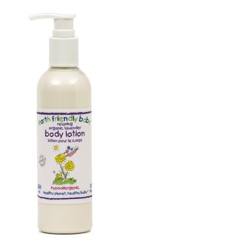 Earth Friendly Baby Lavender Body Lotion 250ml Pack of 2 Queenswood Natural Foods Ltd EFB080