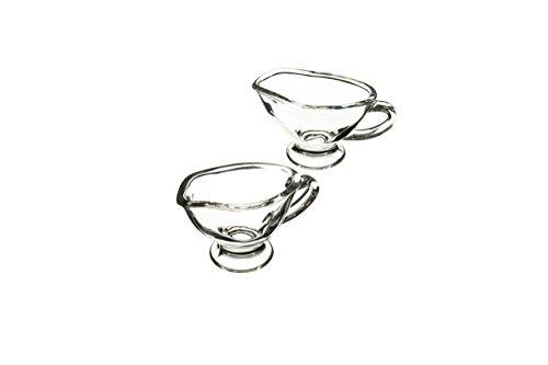 Master Class Artesãƒâ Mini Gravy Boats / Sauce Jugs, 40ml - Glass (set Of 2)