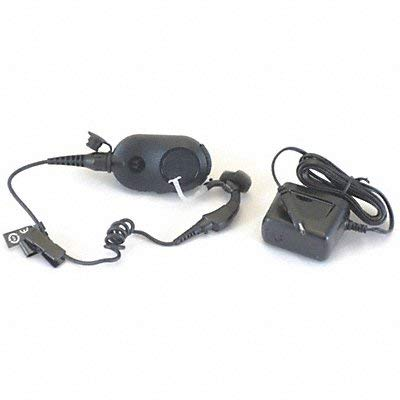 Motorola - NNTN8125C - Wireless Earpiece, Black, 12 In. L