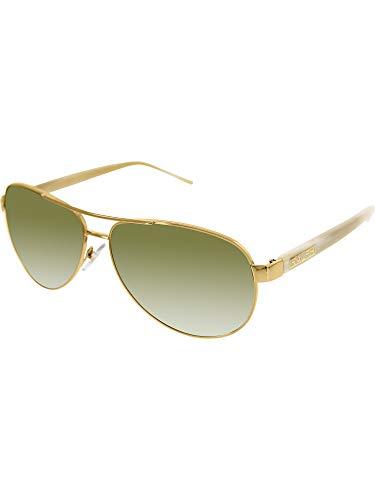 Ralph By Ralph Lauren Rl-ra4004 - 10113 Gold & Cream With Brown Gradient Lenses Women's Sunglasses