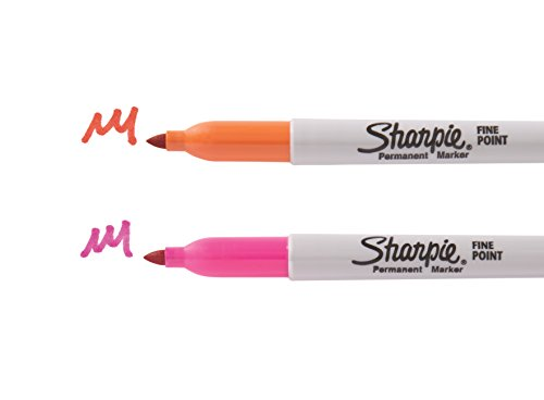 Sharpie Permanent Markers Ultimate Collection, Fine and Ultra Fine Points, Assorted Colors, 72 Count by Sharpie (Image #10)