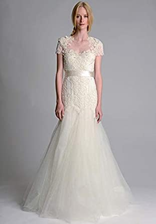 1b9775b9c3 Marchesa Off White Mixed Special Occasion Dress For Women: Amazon.ae