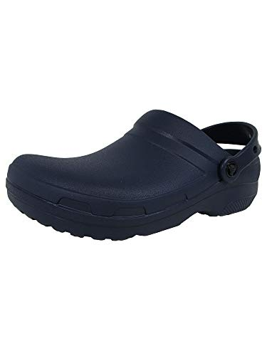 Crocs Mens and Womens Specialist II Clog, Navy, 9 11 US