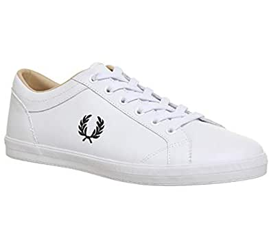 Fred Perry Baseline, Men's Sneakers, White, 41 EU