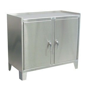 Jamco Products ZP136 Stainless Cabinet, 2 Door, 18'' x 36''