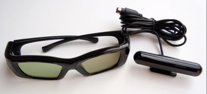 Samsung, Mitsubishi DLP TV compatible 3D kit Emitter and THREE pair rechargeable glasses --works with all Samsung original and 3rd party Infrared synced wireless LCD shutter glasses including Mitsubishi and Samsung 3D Starter Kits