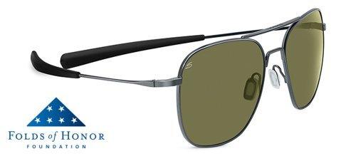 - Serengeti Classic Coll. Aerial Sunglasses Frame 7978 Shiny Hematite New
