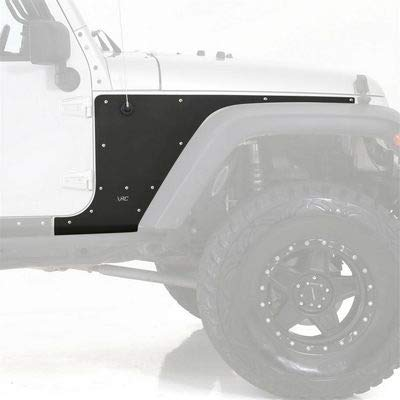 (Smittybilt 76980 XRC Armor Black Textured Front Flat Fender Skin)