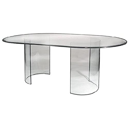 See Glass Dining Table   Base Only