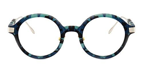 Slocyclub Round TR Metal Eyeglasses Optical Eyewear - Only Discount Eyeglass Frames