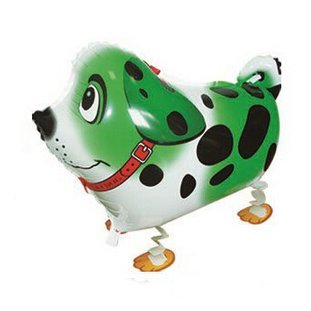 Balón marca perro dálmata hoja Party Balón hinchable Green ...