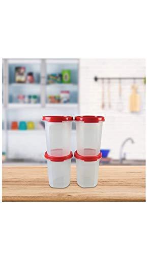 Tupperware Plastic Container Set, 440ml, Set of 4, White Price & Reviews